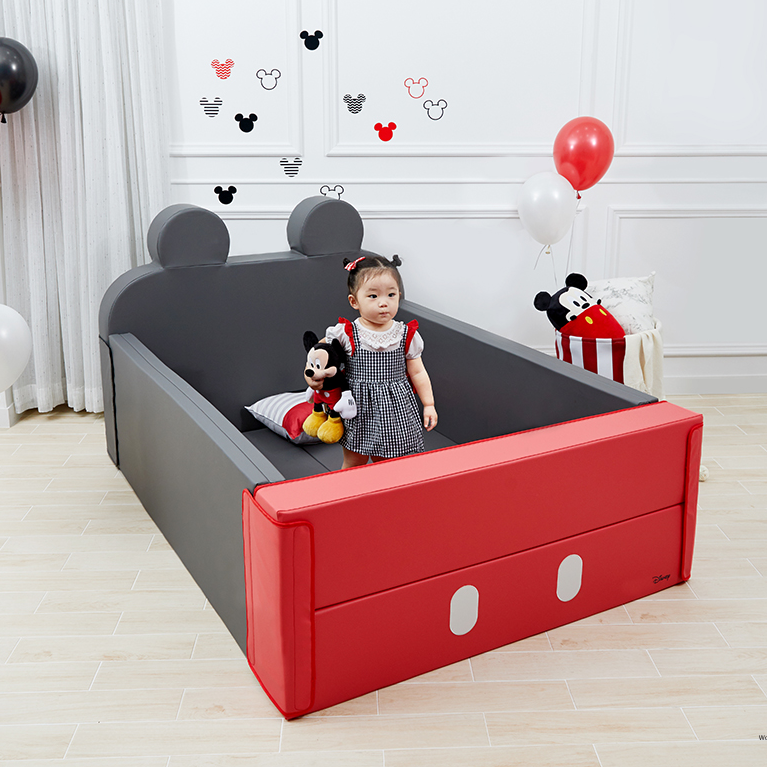 Alzip Baby bumber bed mickey - Babyhouse Australia
