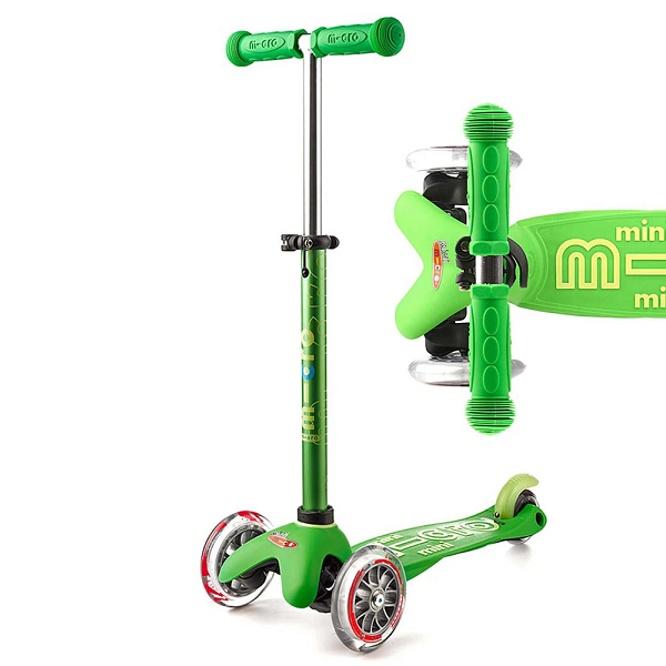 Mini Micro Deluxe Scooter - Green - Babyhouse Australia