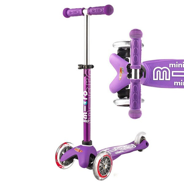 Mini Micro Deluxe Scooter - Purple - Babyhouse Australia
