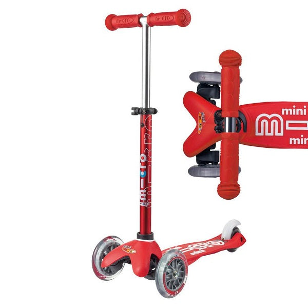 Mini Micro Deluxe Scooter - Red - Babyhouse Australia