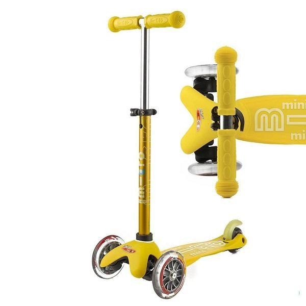 Mini Micro Deluxe Scooter - Yellow - Babyhouse Australia
