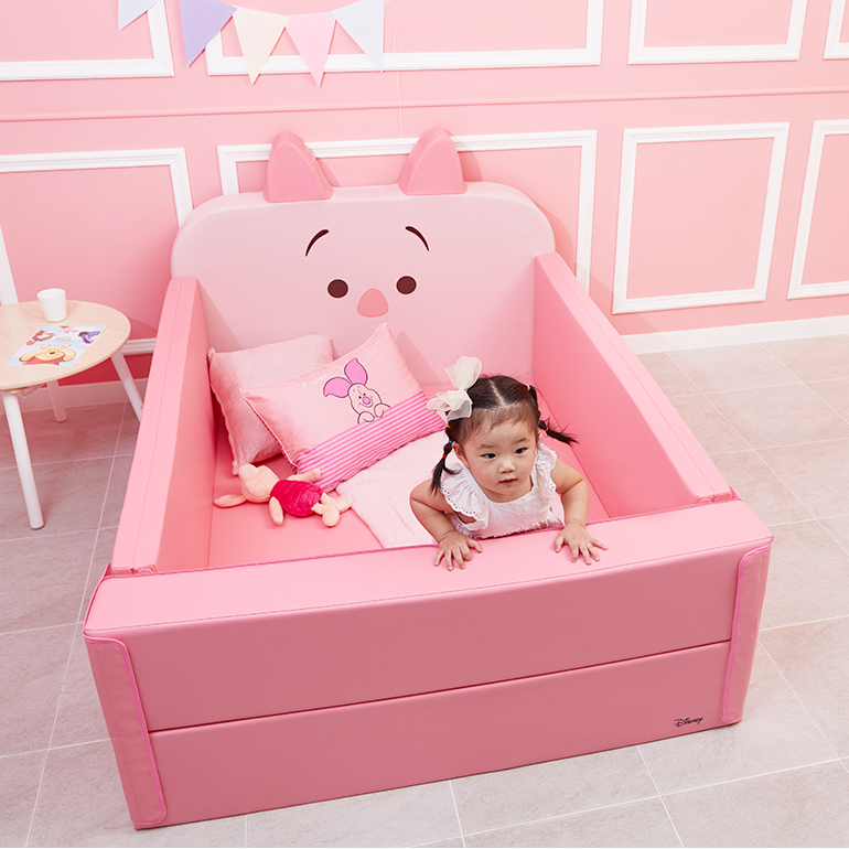 Alzip Baby bumber bed Piglet - Babyhouse Australia