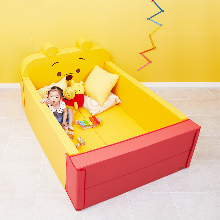 Alzip Baby bumber bed Pooh - Babyhouse Australia