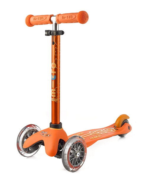 Mini Micro Deluxe Scooter - Orange - Babyhouse Australia