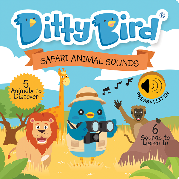 Ditty Bird - SAFARI ANIMAL SOUNDS - Babyhouse Australia