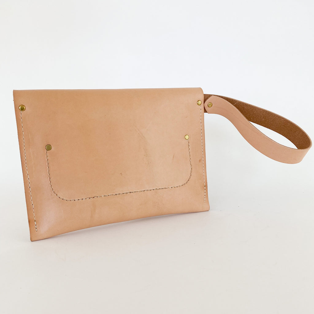 *Sample* Envelope Clutch | Undyed