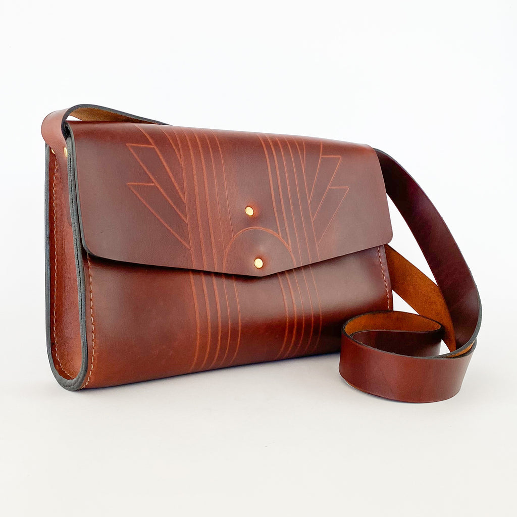 Purse | Deca | Chestnut