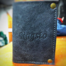 Load image into Gallery viewer, Ragsto Elemental Wallet grey leather