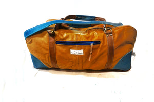 Leather Holdall - large