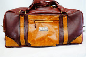 Leather Holdall Bespoke Measurements