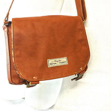 Load image into Gallery viewer, Upcycled Small leather shoulder bag