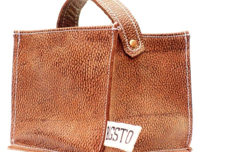 Leather Tidy Limited Edition Antelope leather in speckled brown small