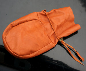 Reindeer Hide Sami leather pouch