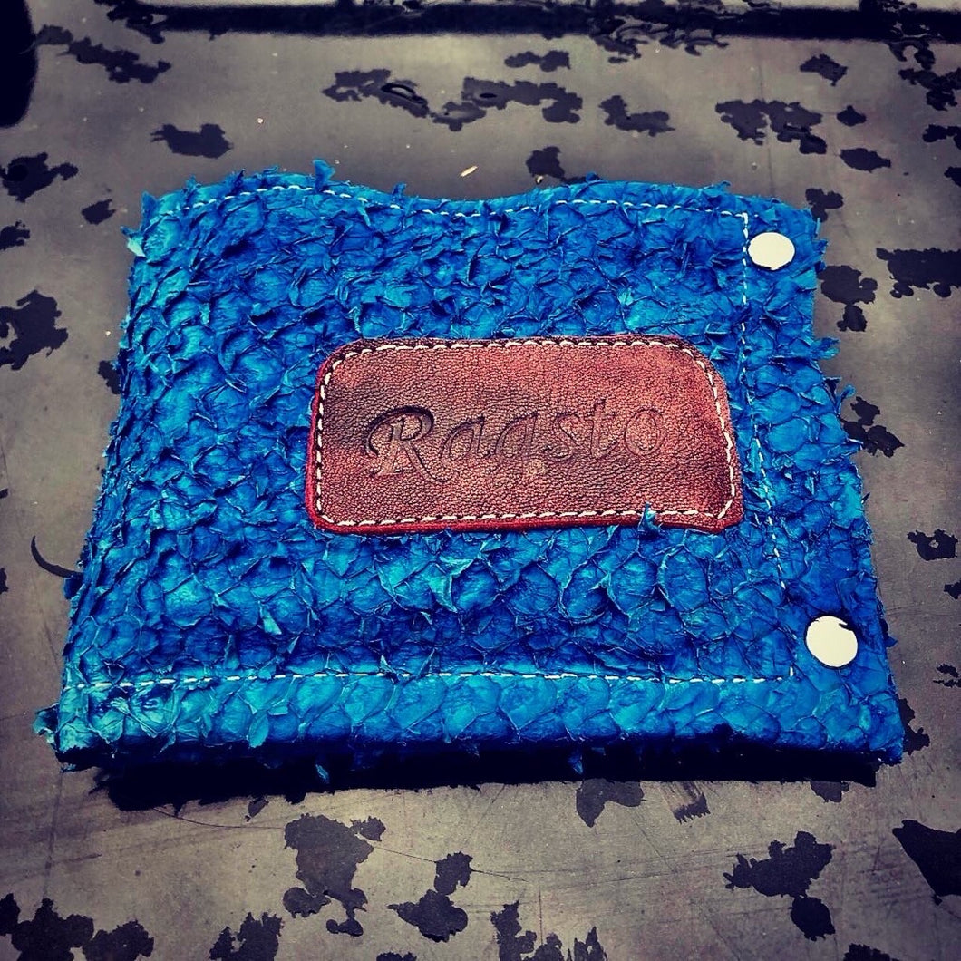 Ragsto blue Perch skin Wallet