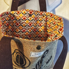 Load image into Gallery viewer, Upcycled Coffee Bean sack shopper