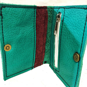 Ragsto Elemental Wallet green