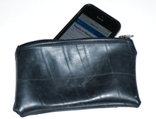 Load image into Gallery viewer, Upcycled zipped pouch