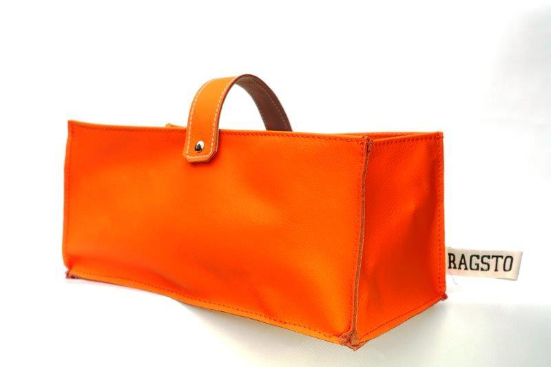 Leather Tidy Limited Edition Orange large