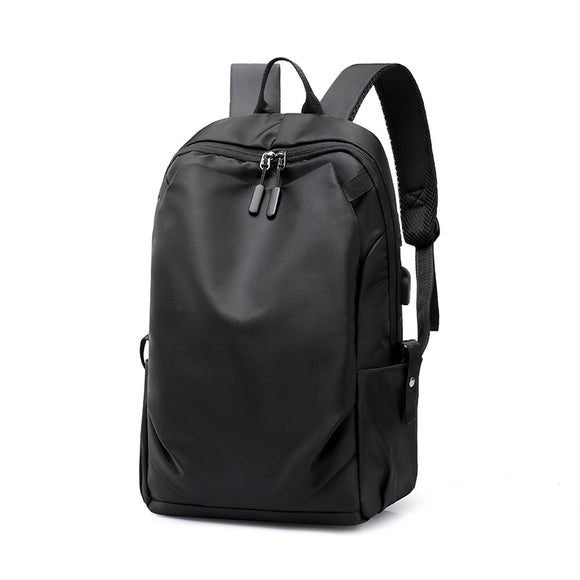 New Waterproof Men Pleated Backpack 15.6 Inches Laptop Back Pack Large Capacity Stundet Backpacks Casual Anti-thief School Bags
