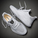 VastWave Breathable Casual Male Footwear Light Weight Sneakers Men Flyknit Big Size Mans Shoes Tenis Masculino Adulto39-47