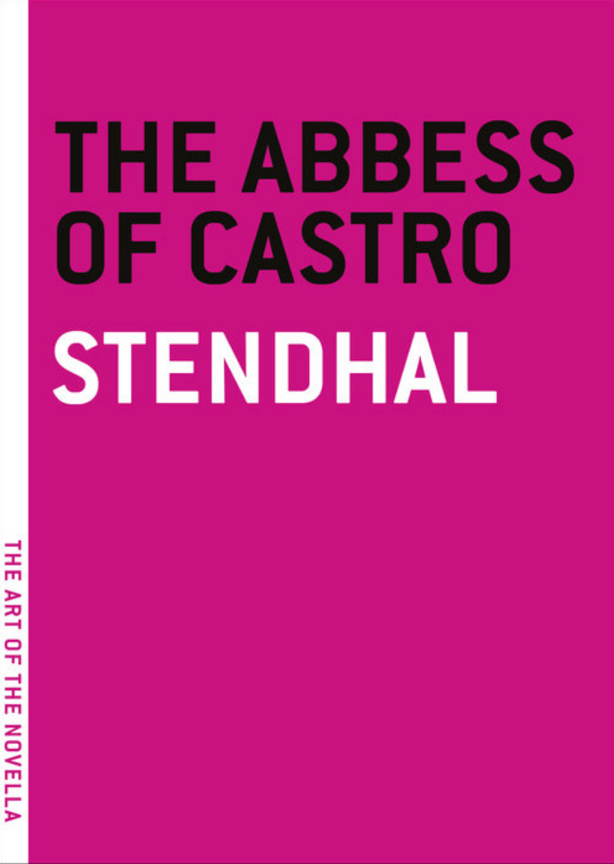 The Abbess of Castro — Stendhal