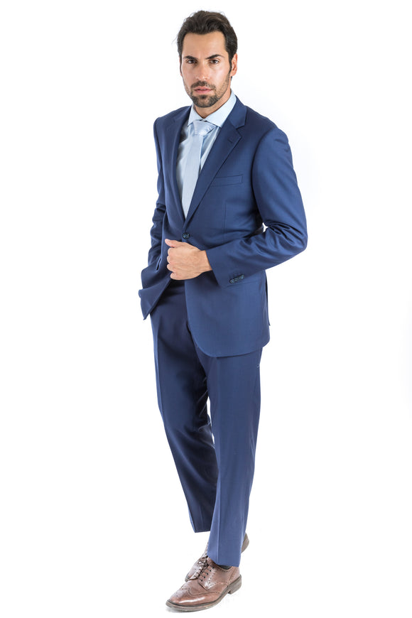 Modern Fit Beautiful Blue Suit
