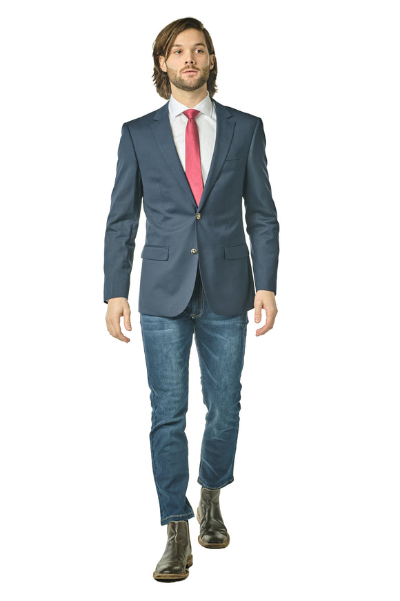 Slim Fit Navy Blazer