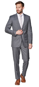 Slim Fit Medium Grey Suit
