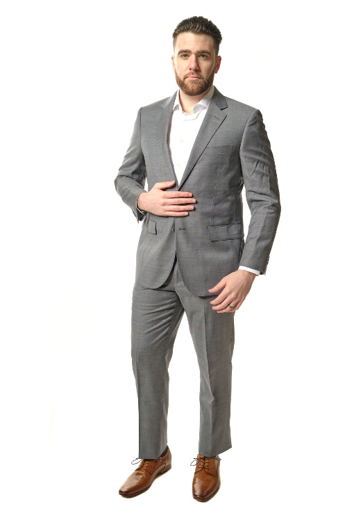 Modern Fit Grey Suit
