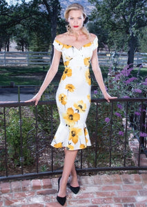 Stop Staring Marilyn Fitted Dress