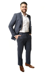 Modern Fit Navy Suit