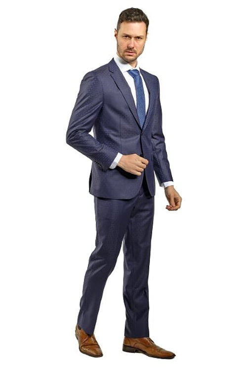 Slim Fit Navy Suit