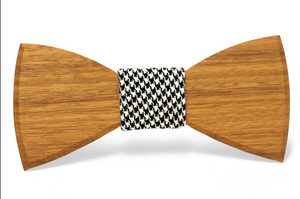 Melvin Handmade Wooden Bow Tie