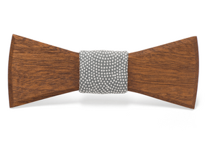Cecil Handmade Wooden Bow Tie