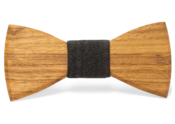 Harry Handmade Wooden Bow Tie