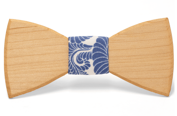 Emery Handmade Wooden Bow Tie