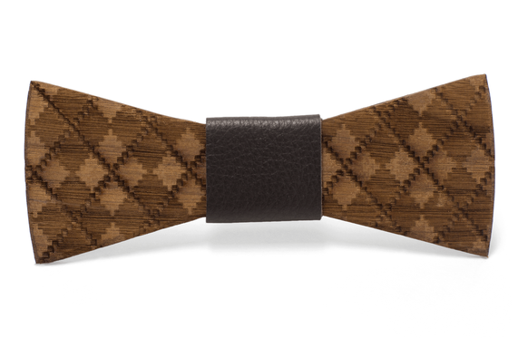 Louie Handmade Wooden Bow Tie