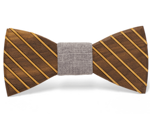 Marion Handmade Wooden Bow Tie