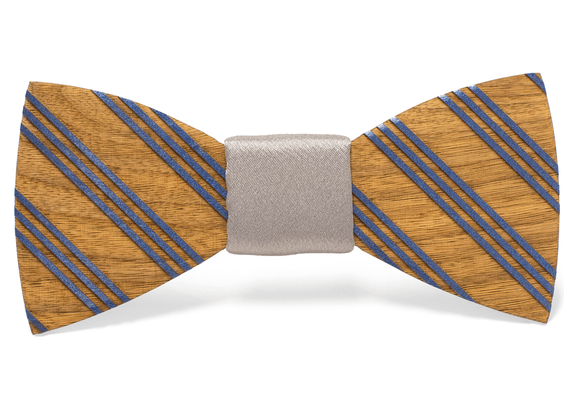 Percy Handmade Wooden Bow Tie