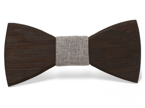 Carl Handmade Wooden Bow Tie