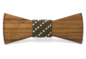 Theo Handmade Wooden Bow Tie