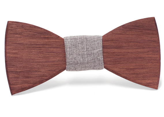 Victor Handmade Wooden Bow Tie