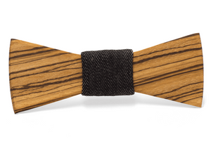 Clive Handmade Wooden Bow Tie