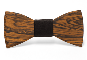 Frank Handmade Wooden Bow Tie
