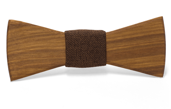Bill Handmade Wooden Bow Tie