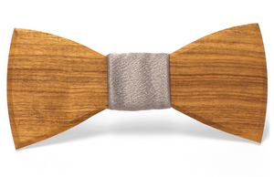 The Classic Handmade Wooden Bow Tie