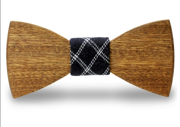 Willard Handmade Wooden Bow Tie