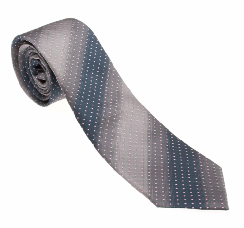 Green/Brown Ombre Striped Necktie