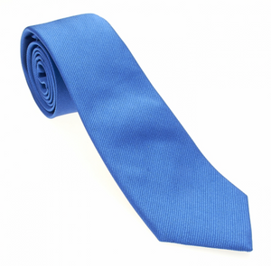 Light Blue Solid Necktie