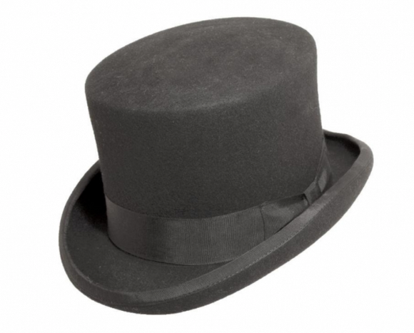 Charcoal Top Hat